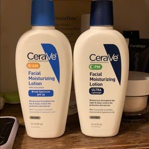 Cerave AM and PM moisturizing lotion